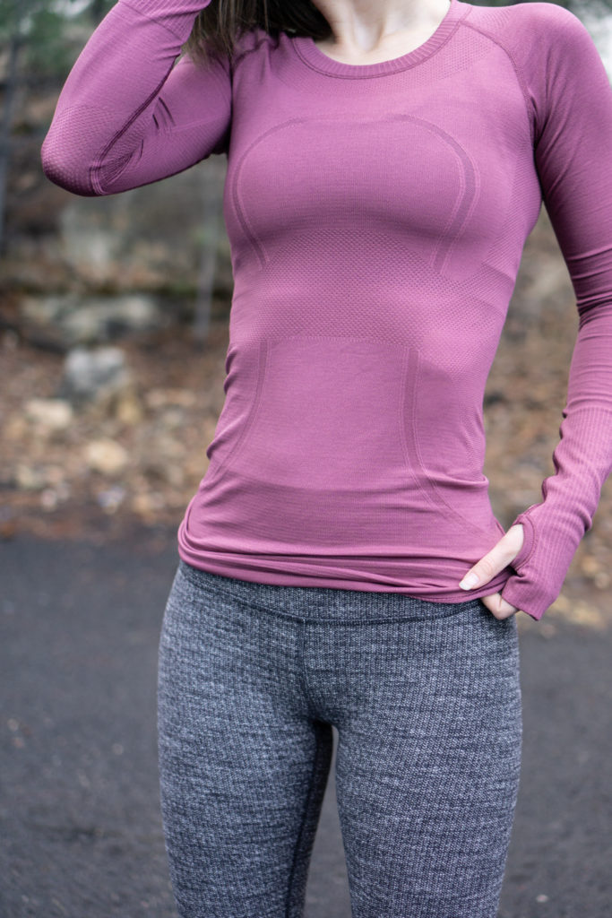 Lululemon workout outfit