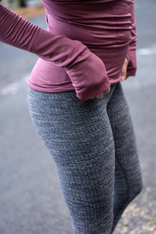 bd0348b3150a4 Lululemon Variegated Knit Wunder Under Tights - Agent Athletica