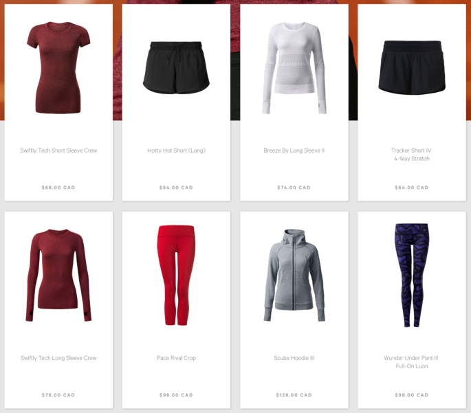 Lululemon increases prices