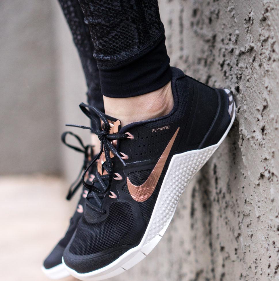 Rose gold Nikes