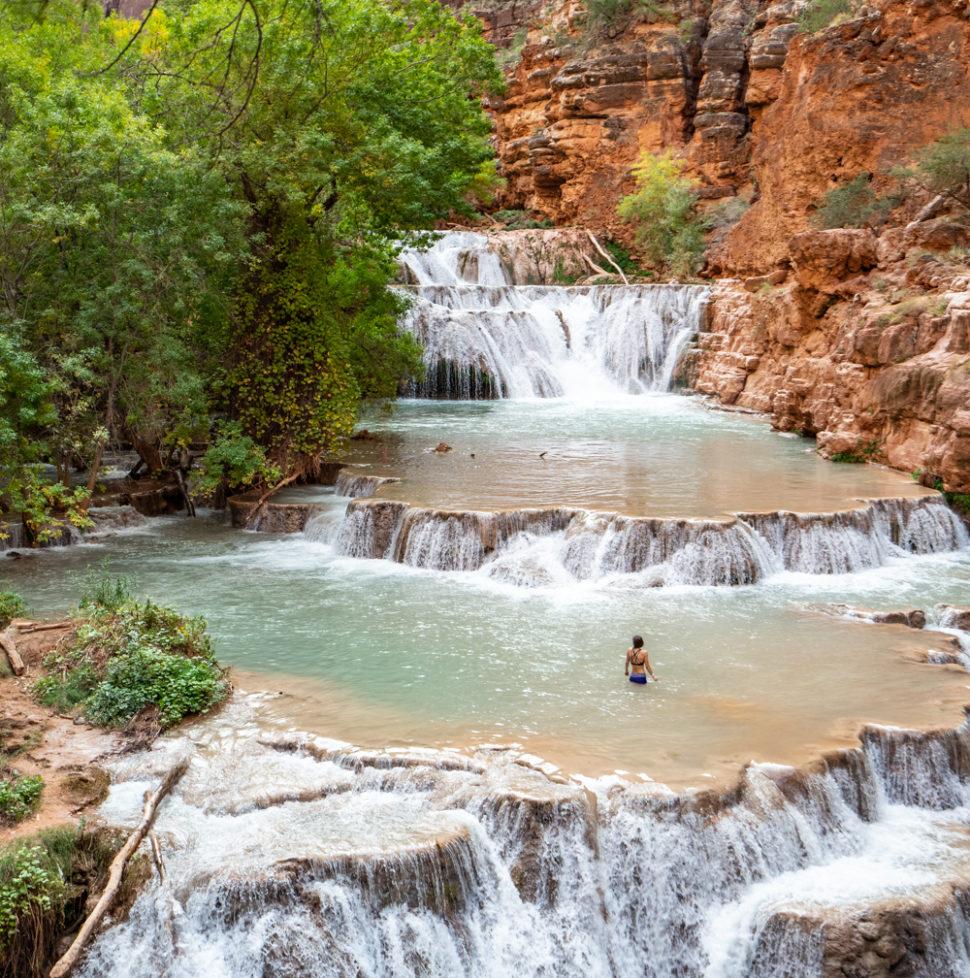 Beaver Falls - How to Plan a Trip to Havasupai