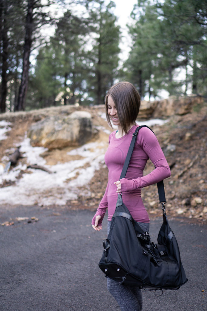 Winter lululemon outfit