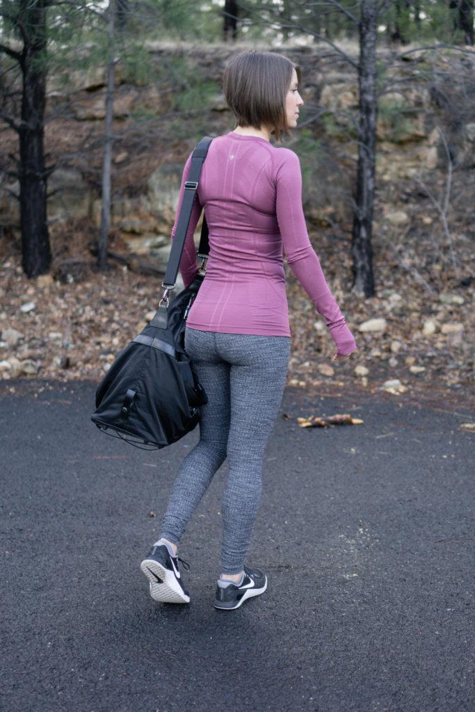 Lululemon winter workout outfit