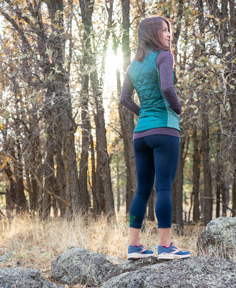 Fall workout outfit idea