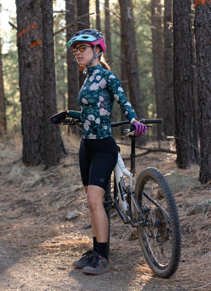 Machines for Freedom floral print mountain biking kit