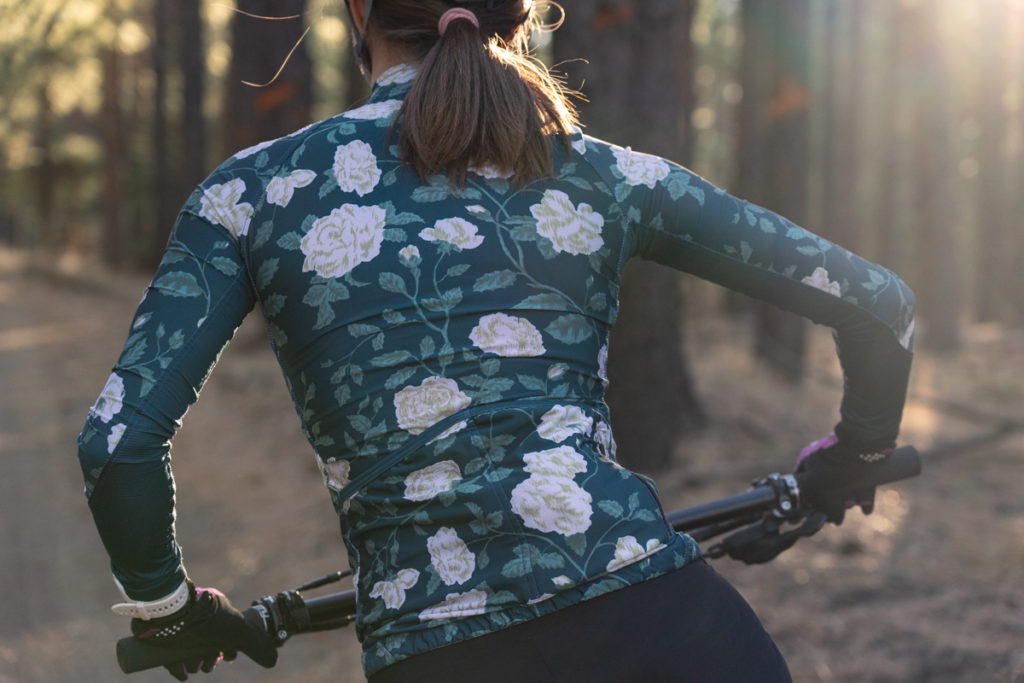 Machines for freedom jaded rose long sleeve jersey