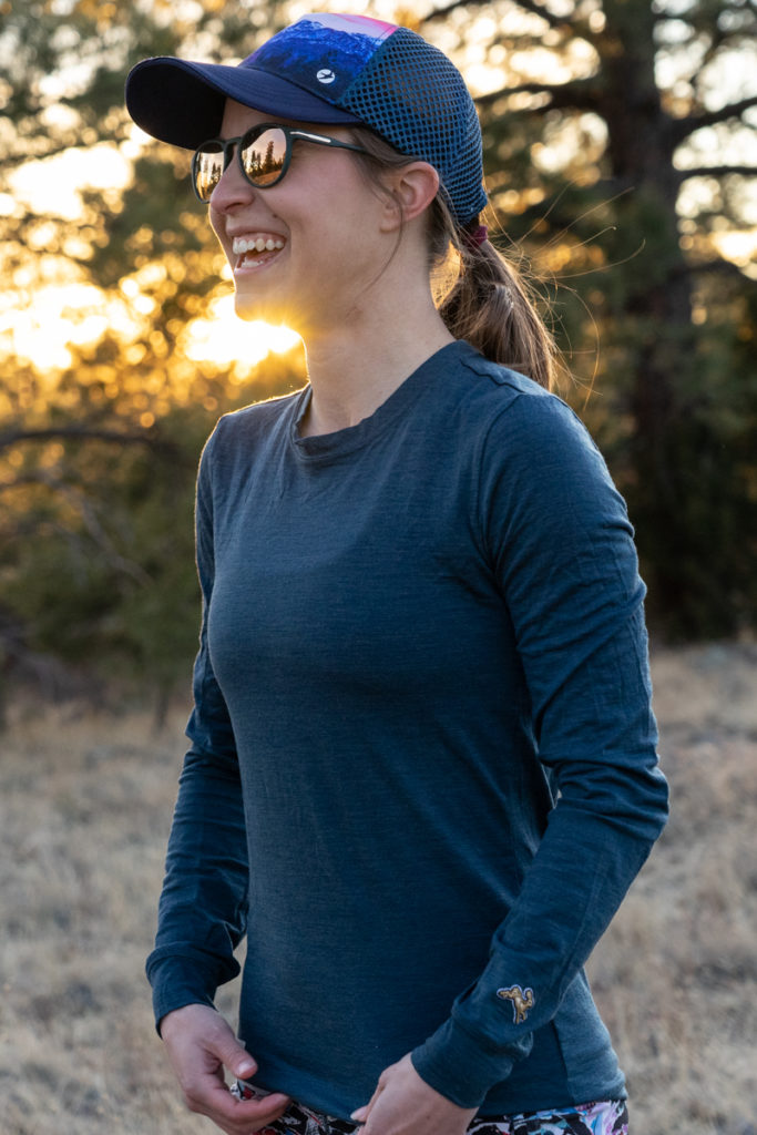 Tracksmith harrier long sleeve tee review