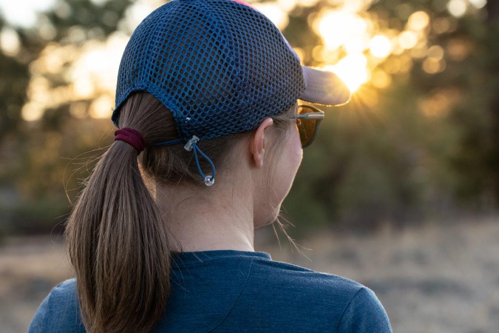 Oiselle runner trucker hat review