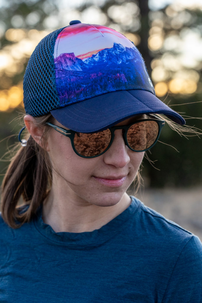 Oiselle runner trucker review: the perfect hiking and running hat