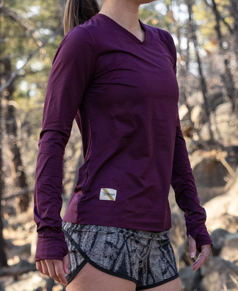 Fall running outfit idea: Tracksmith and lululemon